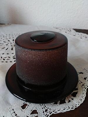 Apothekerflasche;Verschluß;geschl. Glasstöpsel;12 cm