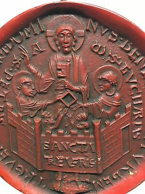 Stadtsiegel von Trier Dominus benedicat et Urbem Trevericam Plebem Ø 12,4 cm