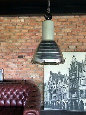 LOFT Lampe Holo Glas Alt Gastro Industrie Industrielampe Beleuchtung loftlampe