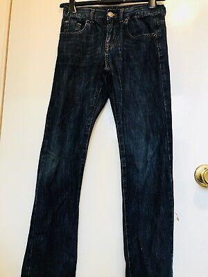Zara Boys  Dark Blue  Jeans Size 9-10 2