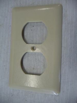 Old Vintage Bakelite Electrical Switch Outlet Plate Covers Ivory  Ge 3