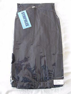 "GYMPHLEX 31 - 34"" Waist Girls/Ladies NAVY Gym Sports Skirt (kilt Style) - NEW! 9"