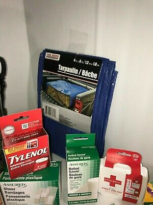 Disaster Emergency Survival Kit Bug Out Bag Camping earthquake Hurricane 10