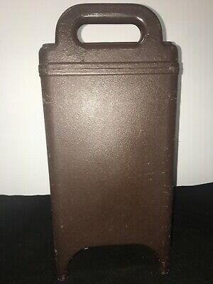 Cambro Brown Insulated Soup/Beverage Carrier 350LCD 3.3/8 Gallon Capacity. #12 4