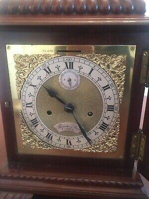 Mahogany bracket clock, fine quality Englishdouble fusée movement 3