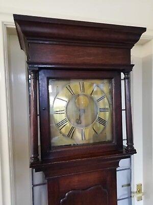 Single Finger Grandfather Longcase Clock Joseph Donisthorpe Circa 1770 3