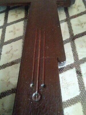 Marco pequeño (27por 21) de madera antiguo al estilo modernista 5