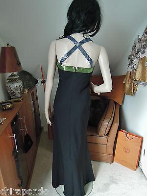 Abendkleid Gr. 36 Gr. 38  schwarz blau grün Pailletten erotisch CLASS Godet 5