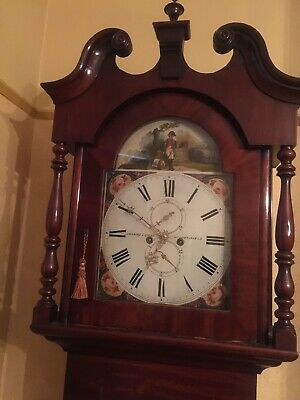 Longcase Clock Lockwood & Cooke Huddersfield Fully Working 2