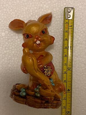 China Chinese Zodiac Year Animal Rabbit Wealth Chinese Statue Figure Figurine 4