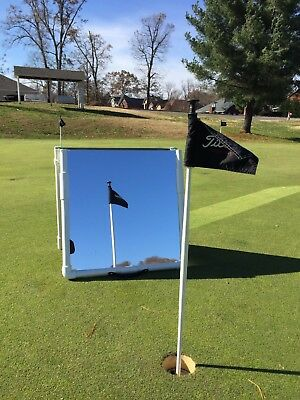 Golf Practice Mirrors 2'x4' Folds for Easy Transport --Writeable surface 8