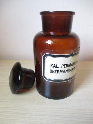 Alte Apother-Flasche - 20cm