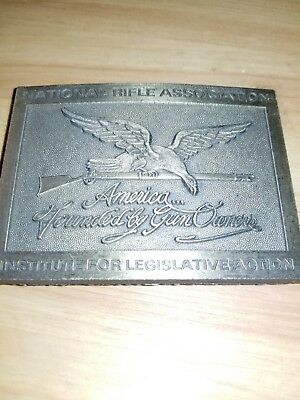 American Founded By Gun Owners Belt Buckle 2