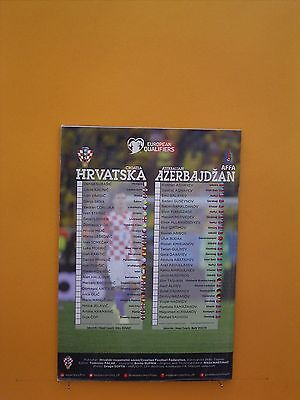 European Championship Qualifier - Croatia v Azerbaijan - 13th October 2014 2