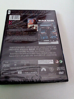 "Dvd ""Black Rain"" Precintada Sealed Ridley Scott Michael Douglas Andy Garcia Ken 2"