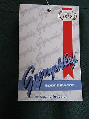 "GYMPHLEX Girls/Ladies BOTTLE GREEN School Gym Kilt/Skirt W27-30"" 13+ yrs- NEW! 7"