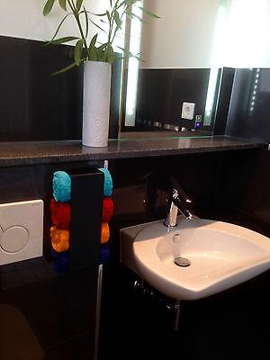 g ste handtuchhalter ohne bohren handtuchregal loft. Black Bedroom Furniture Sets. Home Design Ideas