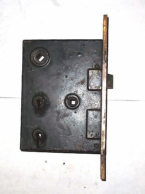 Antique H&D Mfg Co. Eastlake Era Entry Locks With Thumbturn Option. 5