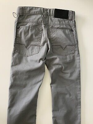 Hugo Boss Boys Slim Fit Jeans, Size Age 8 Years, 126. M, Grey, VGC 7