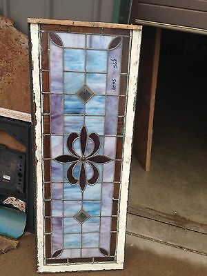 Nice Antique Stained Glass Window Sg 24 4