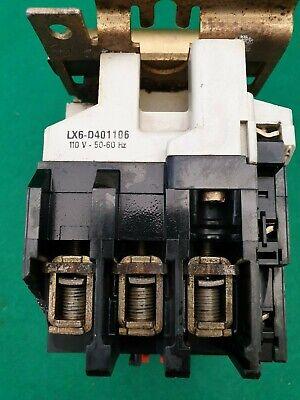 LC1D633 Telemecanique  Contactor 110 VAC Coil 80 Amp 37 Kw 5