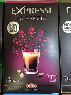 Expressi K-fee Coffee Machine Capsules Pods ALDI 80 caps (5 boxes) u choose 4