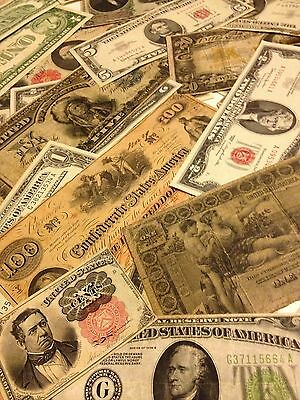 ✯Estate Sale Lot Old Currency Coins ✯Gold Silver Certificate ✯Large Small Money✯ 7