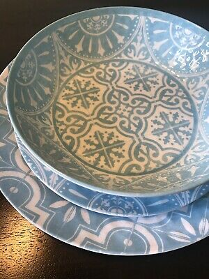 Bed Bath And Beyond Porto Melamine Dinnerware Dinner Nwt Salad Plates Bowls Dinnerware Serveware Apexlab Other Dinnerware Serveware