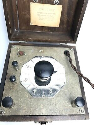 Antique Phillips-Drucker Manufacturers Quackery Device St. Louis, MO. 3
