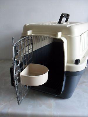 Petmode Plastic Pet Crate HCA13A - L50 X W33 X H33 6
