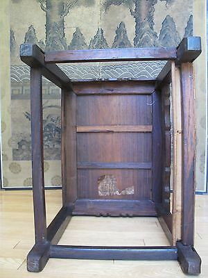 Beautiful 18-19th Century Qing Dyn. Chinese Rosewood Mother of Pearl Inlay Chair 12