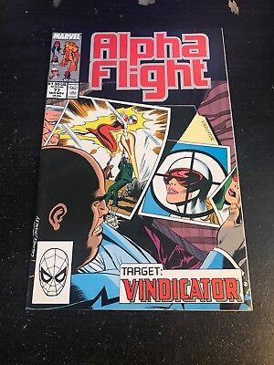 Alpha Flight#77 Incredible Condition 9.0(1989) Kingpin App!! 10