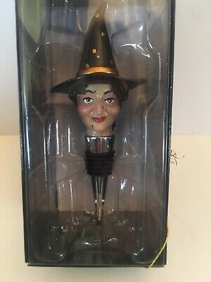 Katherine/'s Collection Spellbound Witch Wine Topper Tassel 11-711370 NEW
