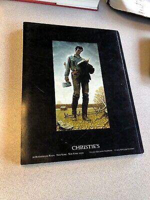 Christie's Sale 1731 Important American Paintings Auction Catalog 2006 2