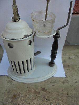 29671 Alter antiker Inhalator Inhaliergerät  Emaille 4