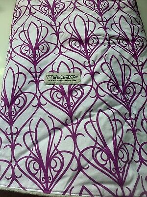 Used ~Mikayla Pattern Baby Carseat Cover Canopy Couture Brand~ Excellent Cond 3