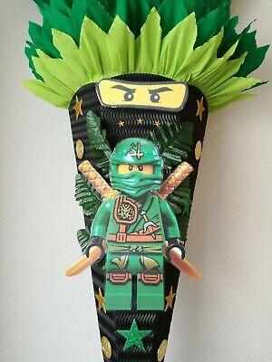 Bastelset Schutüte Ninja B3 Junge Zuckertüte Schultüte Ninjago