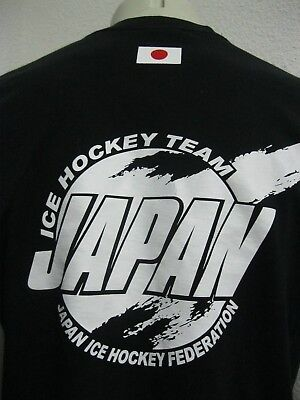 Ancien MAILLOT T-SHIRT JAPAN ICE HOCKEY FEDERATION TEAM 2009 WOMEN U18 sur Glace 5