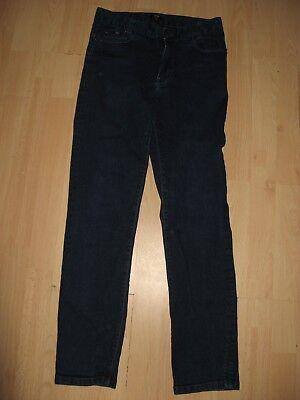Worn Once Boys Hugo Boss Slim Fit Stretch Straight Leg Dk Blue Jeans Age 12-14 7