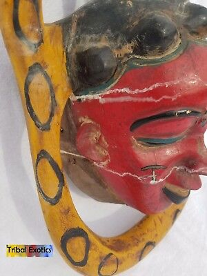 POWERFUL Polychrome Guro Baule Mask Figure Sculpture Statue Fine African Art 11