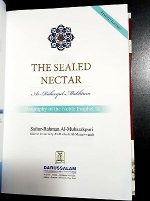THE SEALED NECTAR. THE PROPHET BIOGRAPHY. By AL-Mubarakpuri in English DARSALAM 2