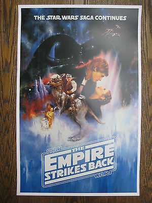 "Star Wars - Empire Strikes Back ( 11"" x 17"" ) Collector's Poster Print -B2G1F 2"