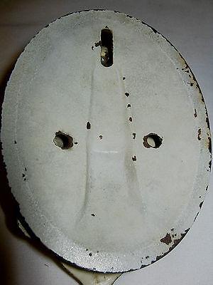 Rare Antique Hubley #616 Architectural Door Art Cast Iron Arab Genie Doorknocker 6