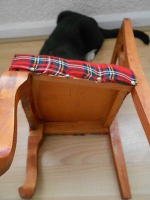 Vintage Miniature Chair In Lovely Condition 8