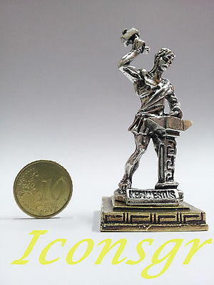 Ancient Greek Miniatures Olympian Gods Pantheon Sculpture Statue Zamac Set 3 pcs 9
