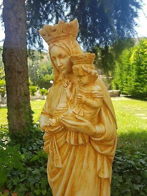 Statua Della Madonna Del Carmine Carmelo Da Esterno In Cemento Marmo E Pietr 5