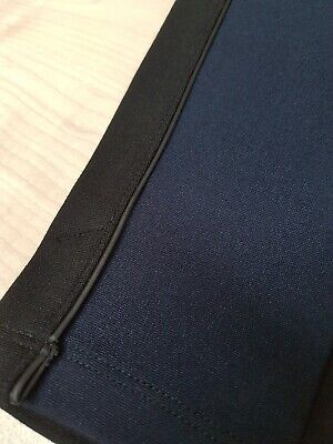 Pantacollant Leggings Leggins Contenitivo Modellante Nero Blu HUE  Misure S-M-L 4
