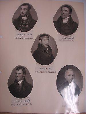 Methodist Portraits Collection - Circa 1800's 7