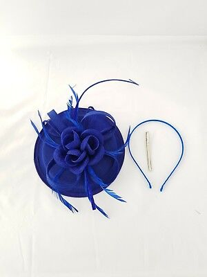 Elegant Fascinator with Headband and Clip Weddings Ladies Day Race Royal Ascot 2