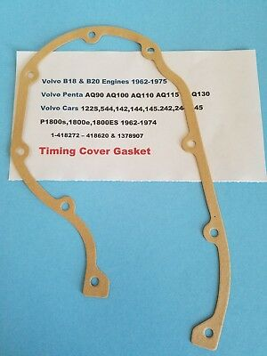 AQ130 Volvo B18 & B20 Engines 122s P1800 Timing Cover Seal 544 ...